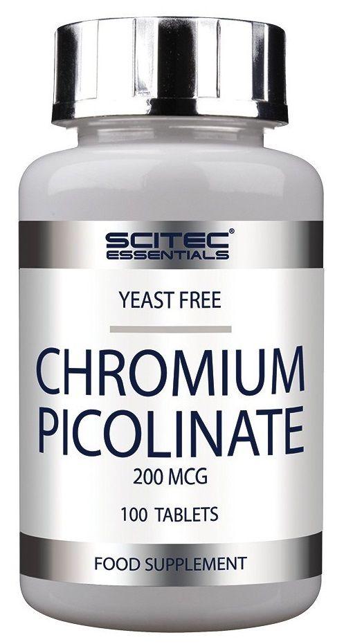 SCITEC NUTRITION - CHROMIUM PICOLINATE 200 MCG - 100 KAPSZULA