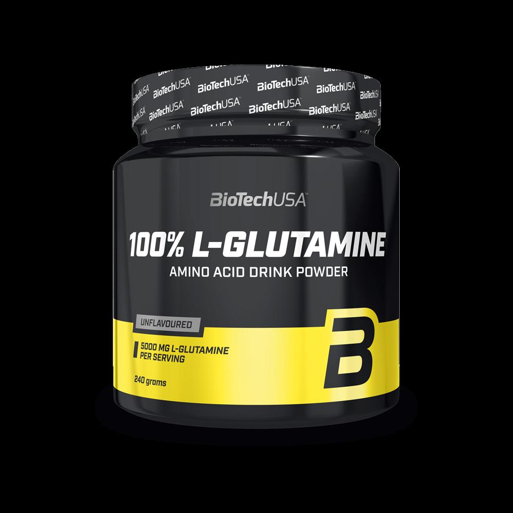 BIOTECH USA - 100% L-GLUTAMINE - 240 G