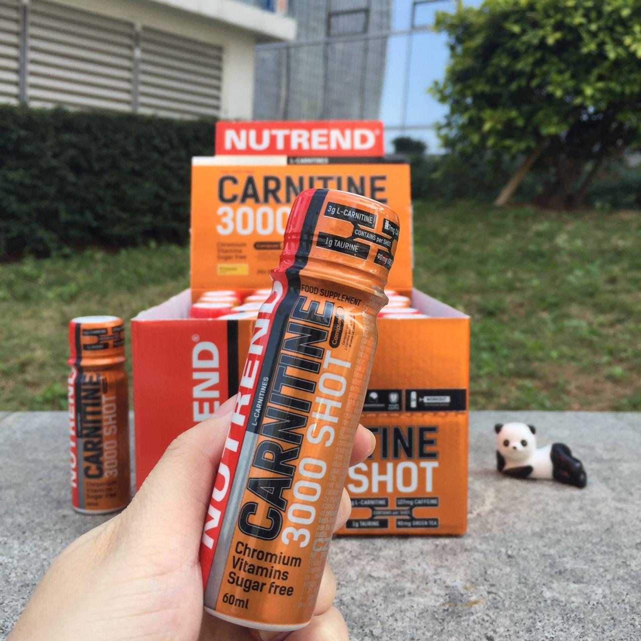 NUTREND - CARNITINE 3000 SHOT - 20 X 60 ML