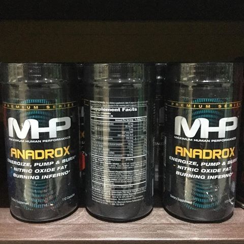 MHP - ANADROX PUMP & BURN - 112 TABLETTA