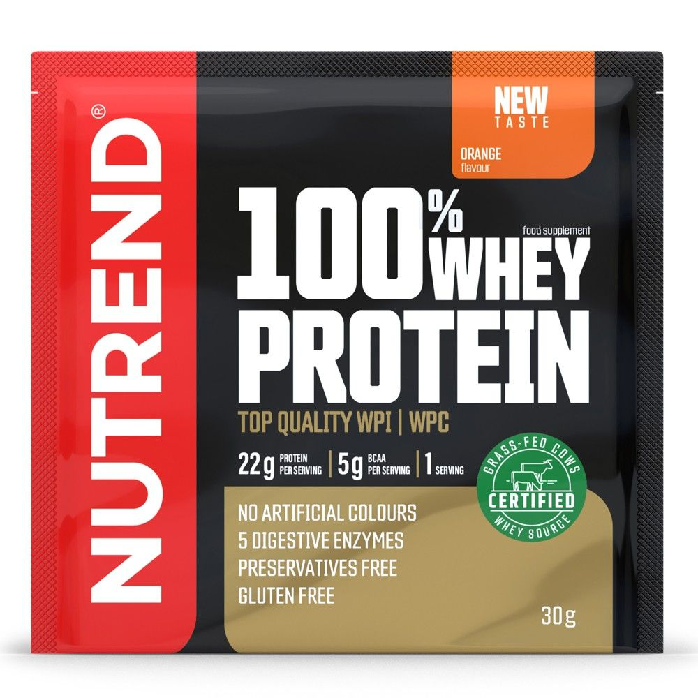 NUTREND - 100% WHEY PROTEIN - 30 G