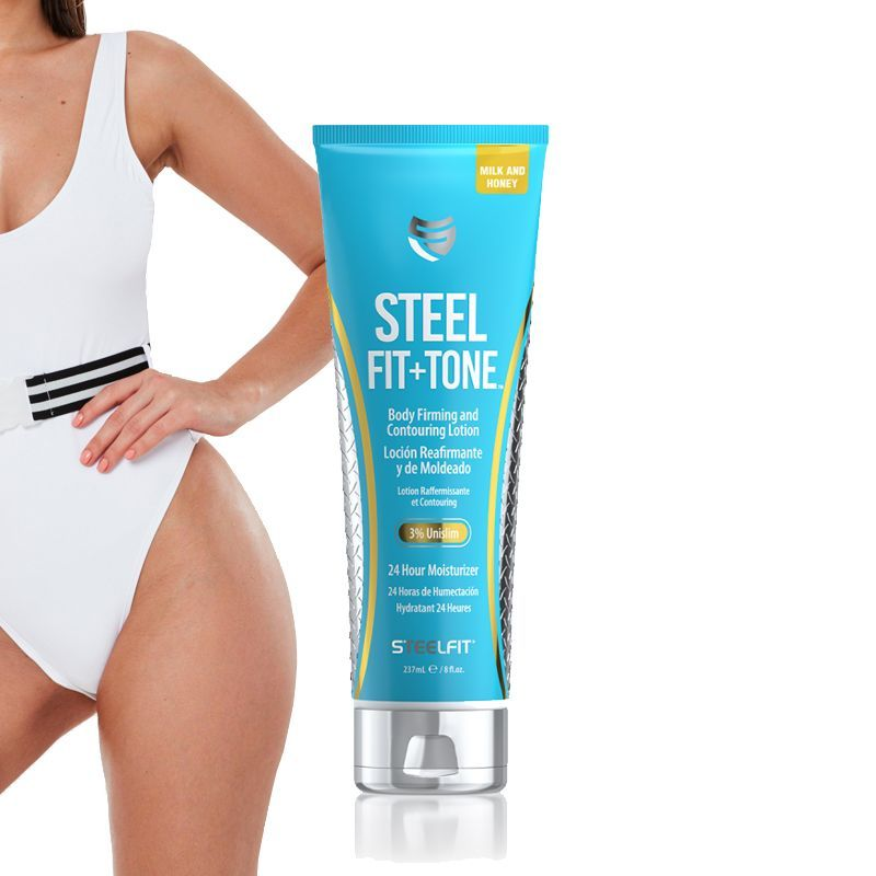 STEELFIT - STEEL FIT + TONE - 3% UNISLIM BODY FIRMING AND CONTOURING LOTION CREAM - 237 ML